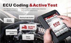 x431 v+ Активные тесты и кодироване ECU