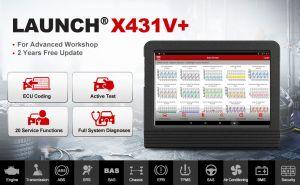 Launch X431 V+ 4.0 Wifi/Bluetooth