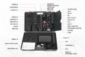 LAUNCH X431 V+ Комплектация планшетного сканера