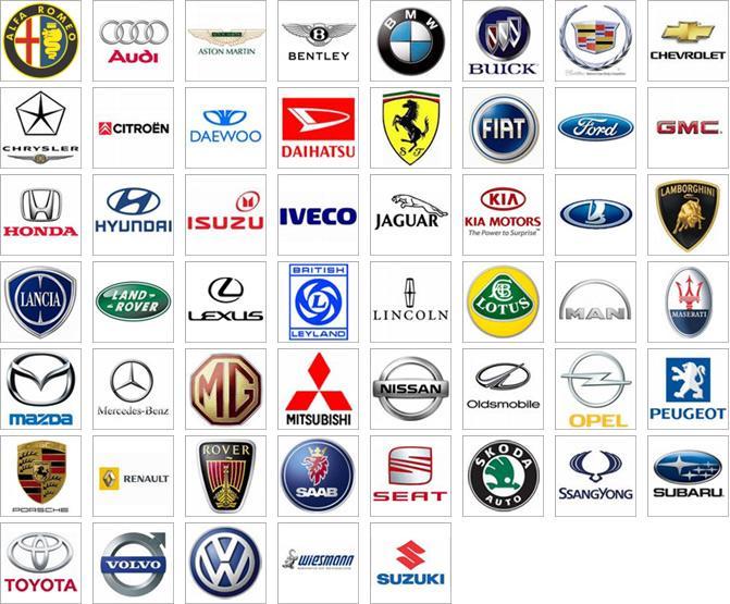 Список зарубежных моделей